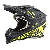 O'Neal 2Series RL Spyde Motocross MX Helm Enduro Trail Quad Cross Offroad, 0200, Farbe Schwarz, Größe XL