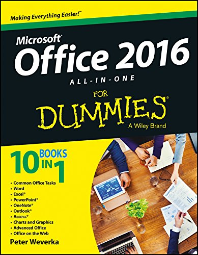 Microsoft Office 2016 All-In-One For Dummies