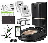 iRobot Roomba s9+ (s955020) Ensemble d'aspirateur Robot avec système de Nettoyage Automatique de la saleté - Connexion Wi-FI avec kit de Recharge iRobot Authentique