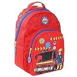 Feuerwehrmann Sam Kindergarten Rucksack rot ca. 30 cm Kinder Tasche