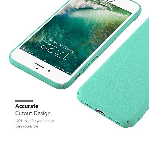 Cadorabo – Mattes Hard Cover Slim Case Frosty für >               Apple iPhone 8 / 7 / 7S               < - Cover Schutz-hülle in FROSTY-GRÜN FROSTY-GRÜN