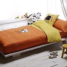 Funda nórdica cama 105 cm. + Funda para Cojín + Sábana bajera ajustable + Funda de almohada cama. Crearás una habitación muy divertida y original. LOVETEXTIL