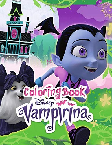 Vampirina coloring book: for kids ages 4-8