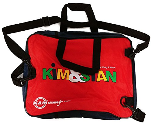 Notentasche Kim & Stan, farbenfrohe Tasche mit Rucksackgurten