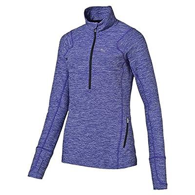 Puma Damen L/S 1/2 Zip Top W Langarm Shirt