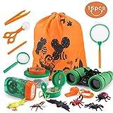 Outdoor Explorer Kit , Idefair Outdoor Exploration Set für 3-10 Jahre alte Jungen und Mädchen, Bestes Geschenk Spielzeug Geburtstagsgeschenke für Camping Wandern Spielen (10 Stück)