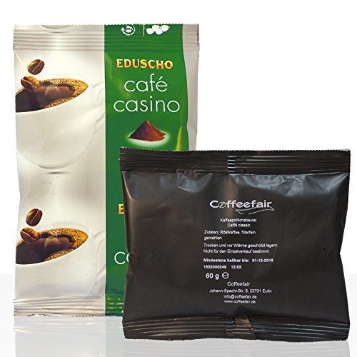 Tchibo/Eduscho Cafe Casino Plus 80 x 60g + Coffeefair Filterkaffee 10 x 60g