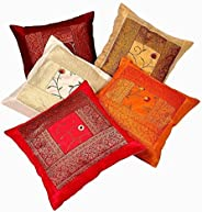 4 PC Set Doona Bedding Boho Indian Duvet Cover Reversible Cover with 1 pc Tapestry Queen Size Bedsheet Elephan