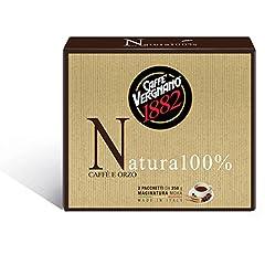 Idea Regalo - Caffè Vergnano 1882 Caffè Macinato  Natura 100%  -  8 confezioni da 500 gr (totale 4 Kg)