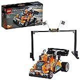 LEGO- Technic Camion da Gara con Tecnologia Pullback e la possibilità Due Modelli Differenti, Set di Costruzioni +7 Anni, 42104