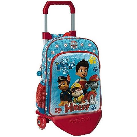 Paw Patrol 44623M1 Mochila Infantil, Color Azul, 19.2 Litros