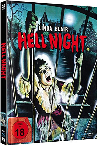 Hell Night - Mediabook Limited New Edition 2020 (Blu-ray+DVD plus Booklet/inkl. VHS-Fassung)