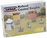 Unbekannt Emhar EM7210 - 1/72 Mittelalterliche Ritter Modellbausatz