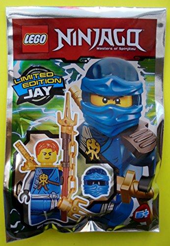 LEGO ® Ninjago Limited Edition Jay Minifigur mit Waffen