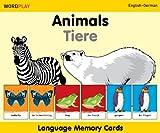 Language Memory Cards - Animals - English-polish (Wordplay)