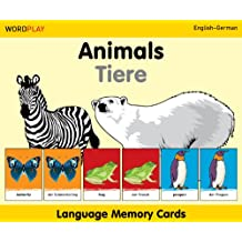 Animals/Tiere Language Memory Cards (Wordplay)