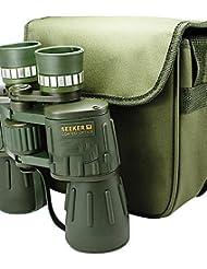 PIGE ¿Buscador? 10x 50 mm Prismáticos BaK4 de alta definición / visión nocturna / Gran Angular 115m / 1000M central de enfoque totalmente CoatedDimlight / Cocina