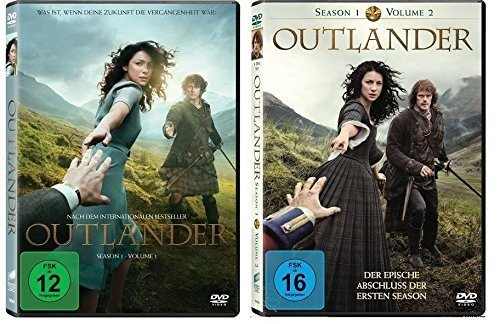 Outlander - Staffel/Season 1 Vol.1+2 (1.1+1.2) * DVD Set (Staffel 1 komplett) (Hammer Jack Kostüm)