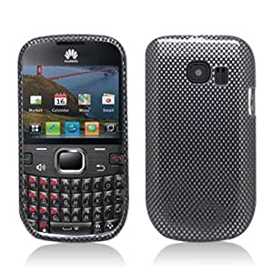 Aimo HWM636PCIM006 Durable Hard Snap-On Case for Huawei Pinnacle 2 M636 - 1 Pack - Retail Packaging - Carbon Fiber