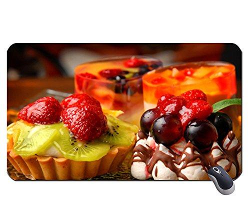 Leckerer Desserts für alle Mitglieder der DN 942821Super Big Mousepad Maße: 23,6x 13,8x 0,2(60x 35x 0,2) Baum, Dessert