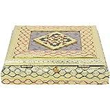 Aatmiya Dry Fruit Box, Serving Tray, Decorative Platter, Beautiful Snack Box With Meenakari Work(28 Dry Fruit Box)