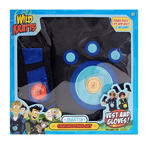 Wicked Cool Toys Wild Kratts Creature Power Suit (Martin) - Large, Ages 6-8 Years (Wild Kratts Kostüm)