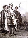 Posterlounge Holzbild 120 x 160 cm: Julius Caesar und Seine Mitarbeiter von Jean Leon Gerome/Bridgeman Images