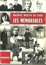 Les memorables, tome 1 : 1918 - 1923 par Maurice Martin Du Gard