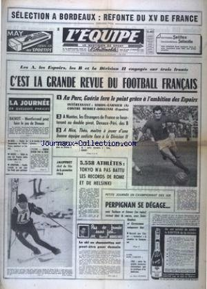 EQUIPE (L') [No 5829] du 26/12/1964