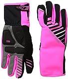 PEARL IZUMI Damen Elite Softshell Gel Handschuhe XL Screaming Pink