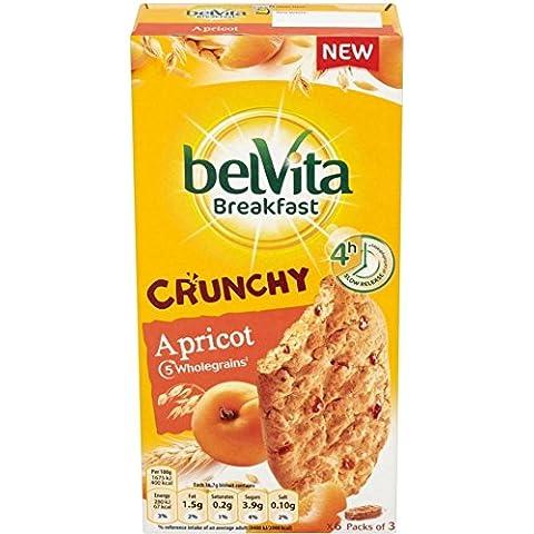 Belvita Colazione Biscotti Croccanti Albicocca (6X50g) (Confezione da 2)