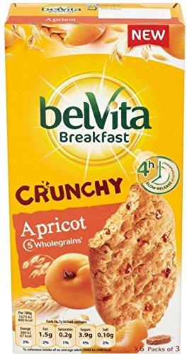 Belvita Colazione Biscotti Croccanti Albicocca (6X50g) (Confezione da 6)