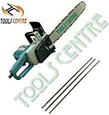 """Toolscentre Powerful 16"""" Electric Chainsaw For Fast & Easy Trimming,Pruning & Light Cutting With Free 3Pcs Chain Sharpening Round File ."""