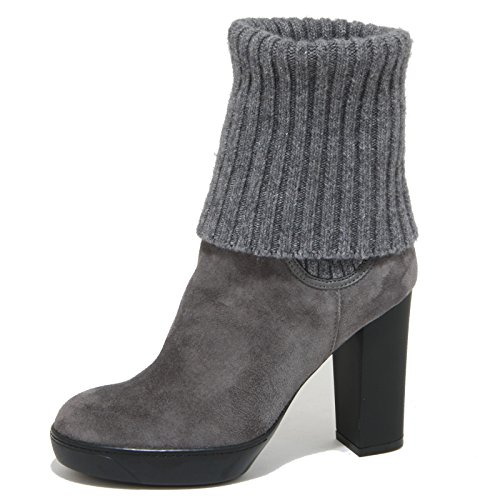1843O tronchetto HOGAN OPTY grigio stivaletti donna boots women Grigio
