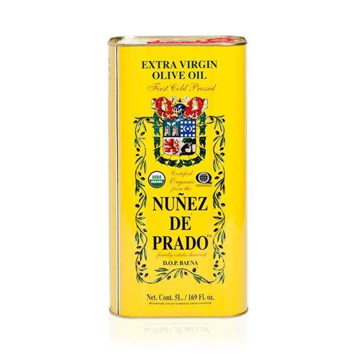 1 boîte de 5 l - Nuñez de Prado - huile d'olive vierge extra écologique par Oliva Oliva Internet SL