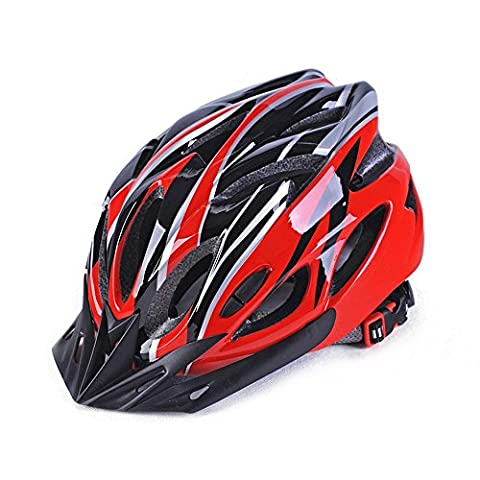 Bike Helmet,eTTgear Eco-Friendly Super Light Integrally Bike Helmet,Adjustable Lightweight Mountain Road Bike Helmets for Men and Women (Red)