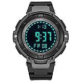 HWCOO 1709 Unisex Quartz Sports elektronische Uhr Männer wasserdichte Gummi Uhr ( Color : 2 )