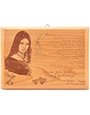 Presto Birthday Gift Love Gift Corporate Gift Wooden Photo Frame by Engraving Process …