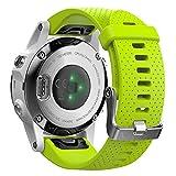 BarRan Fenix 5S, Fenix 5S Plus Bracelet, Bracelet de Remplacement en Silicone Souple pour Garmin Fenix 5S, Fenix 5S Plus Smart Watch, Pas Compatible avec Fenix 5 5X