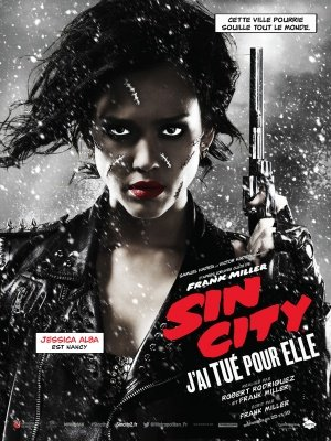 SIN CITY : A DAME TO KILL FOR – Jessica Alba – French Imported Movie Wall Poster Print – 30CM X 43CM Brand New (Für Kill City Dame To Sin Dvd)