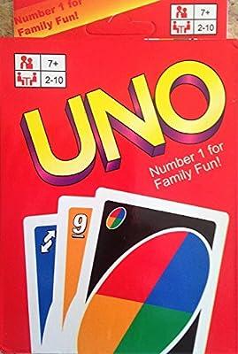 Uno Jeu de cartes (108cartes à jouer)