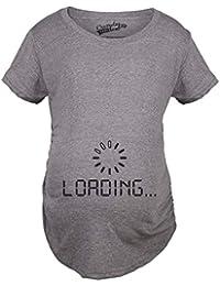 Crazy Dog Tshirts - Maternity Baby Loading Shirt Humor Funny Pregnancy  Shirts Cheap Tees - Divertente 1841b904dc5