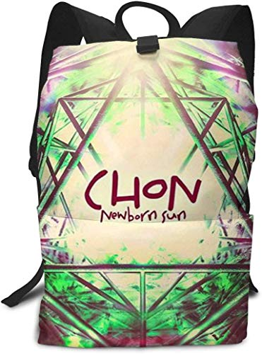 Laptop Backpack for Women Men CHON-Waterslide School College Bookbag for Girls Boys Fashion Travel Back Pack