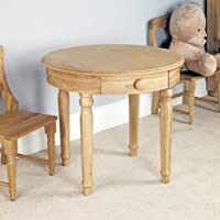 Amelie Oak Childrens Play Table Brown - Baumhaus preisvergleich bei kinderzimmerdekopreise.eu