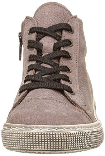 Pèpè 777, Sneakers Hautes fille marron (Elephant Mosto Full Bianco/Mufla)