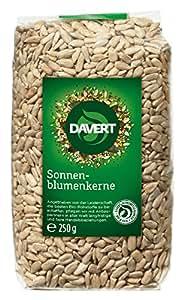 Davert Sonnenblumenkerne, 4er Pack (4 x 250 g) - Bio