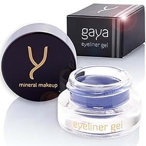 Gel Eyeliner Formula Avanzata Vegan EY2 Blu Lunga Durata - Linee Definite - Senza sbavature, senza cedimenti e linee irregolari. 5gr (EY2)