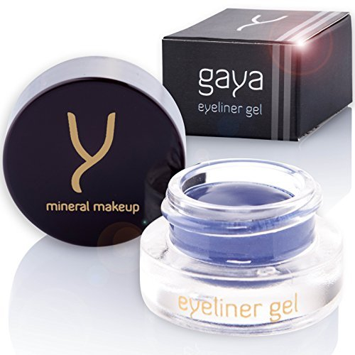 Gaya Cosmetics Veganer Gel Eyeliner - Eyeliner Waterproof Professionelle langanhaltende Formel für...