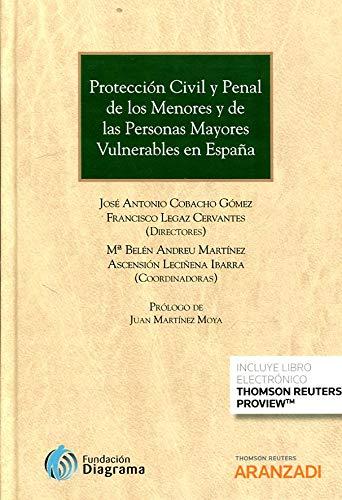 Protección Civil y Penal de los Menores y de las Personas Mayores Vulnerables en España (Papel e-book) (Gran Tratado)