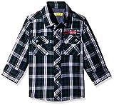 Gini & Jony Baby Boys' Shirt (121012288994 1283_Orange_18-24 Months)